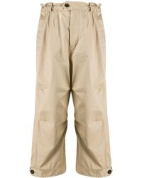 DSquared² Oversized Workwear Trousers - Natural