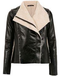 UMA   Raquel Davidowicz Real Shearling Jacket - Black