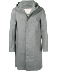 Mackintosh コットンゴム引き フーデッドコート Cullen Gr-007 - グレー