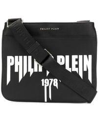 Philipp Plein - Front Logo Messenger Bag - Lyst