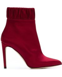 Chloe Gosselin - Gathered Ankle Boots - Lyst