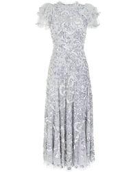 Needle & Thread Shirley リボン ドレス - メタリック