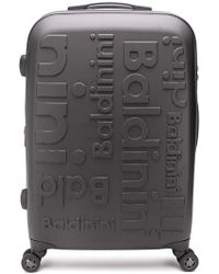 Baldinini Set 315 Logo Embossed Suitcase - Black