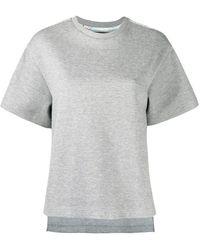 Raeburn 1950s Silk Map Tシャツ - グレー
