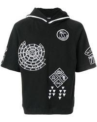 KTZ - Embroidered Hoodie - Lyst