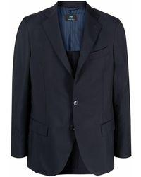 Mp Massimo Piombo シングルジャケット - ブルー