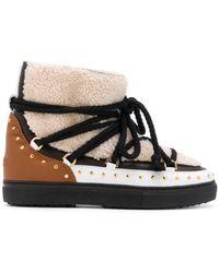 Inuikii Shearling Ankle Boots - Multicolour