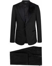 Z Zegna シングル タキシードスーツ - ブラック