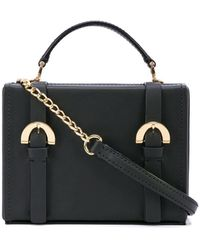 Zac Zac Posen Biba Box Cross Body Bag - Black