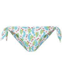 The Upside Floral Print Bikini Bottoms - Wit