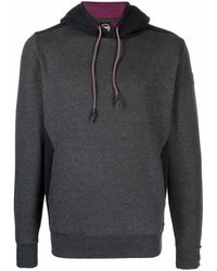 Colmar Logo Patch Hoodie - Grey