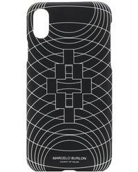 Marcelo Burlon - Wireframe Iphone Xs ケース - Lyst