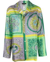 Versace - Пижамная Рубашка С Принтом Baroque - Lyst