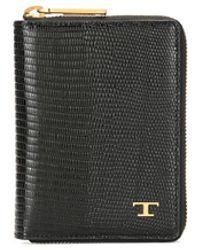 Tod's Кошелек С Логотипом - Черный