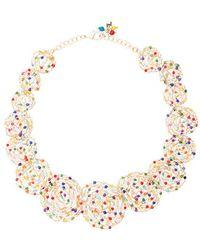 Rosantica Pizzo necklace with multicoloured quartz Tajmv3YZ