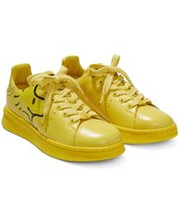 Marc Jacobs X Peanuts 'the Tennis Shoe' スニーカー - イエロー