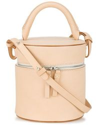 Building Block - Peach Drum Leather Shoulder Bag - Lyst