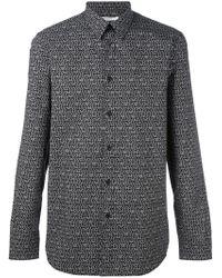 Givenchy - Logo Star Print Shirt - Lyst