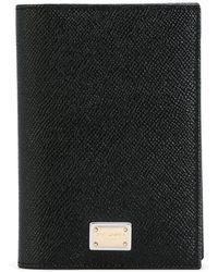 Dolce & Gabbana Uitvouwbare Portemonnee - Zwart