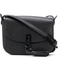 Furla Tassel Detail Crossbody Bag - Black