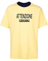 BETHANY WILLIAMS Attenzione Tシャツ - イエロー