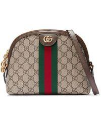 Gucci - グッチ〔オフィディア〕GG ミディアム トップハンドルバッグ - Lyst