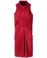 UMA | Raquel Davidowicz Платье Bosnia Без Рукавов - Красный