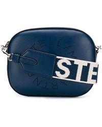 Stella McCartney Stella Perforated-logo Belt Bag - Blue