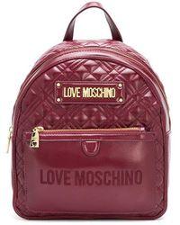 Love Moschino - キルティング バックパック - Lyst