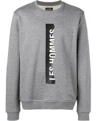Les Hommes - ロゴ スウェットシャツ - Lyst