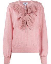 MSGM - メタリック セーター - Lyst