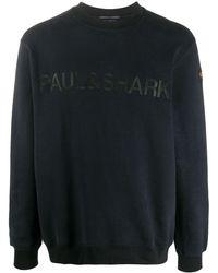 Paul & Shark ロゴ スウェットシャツ - ブルー