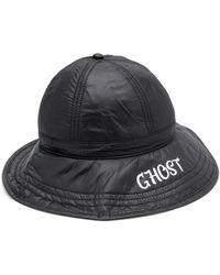 Heron Preston Ghost Print Fisherman Hat - Black