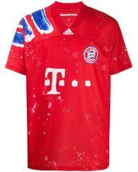adidas Футболка Fc Bayern Munich В Спортивном Стиле - Красный