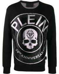 Philipp Plein 20th Anniversary スウェットシャツ - ブラック