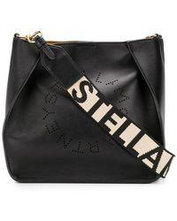 Stella McCartney - Logo Shoulder Bag - Lyst