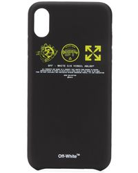 Off-White c/o Virgil Abloh ロゴ Iphone Xs Max ケース - ブラック