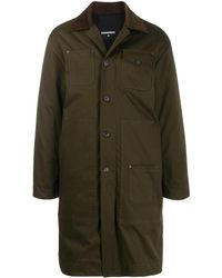 DSquared² Button-up Parka Coat - Green