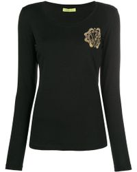 Versace Jeans - Embellished Top - Lyst