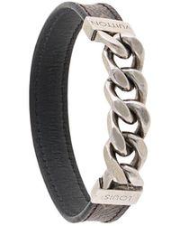 Louis Vuitton Bracelet à chaine LV - Marron