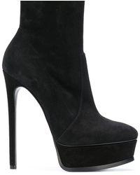 Casadei Platform ankle boots - Noir