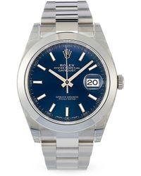 Rolex 2021 Unworn Datejust 41mm - Blue