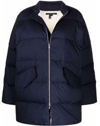 Sofie D'Hoore Short Padded Coat - Blue