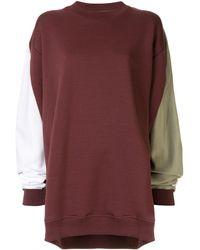 Y. Project オーバーサイズ スウェットシャツ - マルチカラー