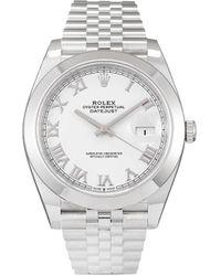 Rolex - Наручные Часы Datejust Pre-owned 41 Мм 2020-го Года - Lyst