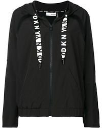 DKNY - Relaxed Fit Hoodie - Lyst