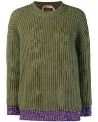 N°21 - Chunky Knit Jumper - Lyst