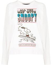 Marc Jacobs X Peanuts Snoopy スウェットシャツ - マルチカラー