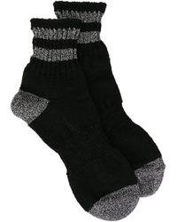Kolor - Stripe-trim Socks - Lyst