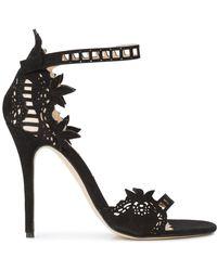 Marchesa Margaret sandals - Noir
